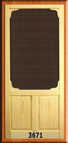 VINTAGE SCREEN DOORS #3671