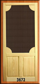 VINTAGE SCREEN DOORS #3672