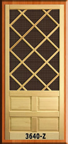 Craftsman Screen Doors #3640-Z