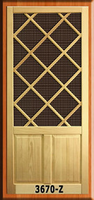 Craftsman Screen Doors #3670-Z