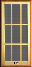 New England Screen Door #411