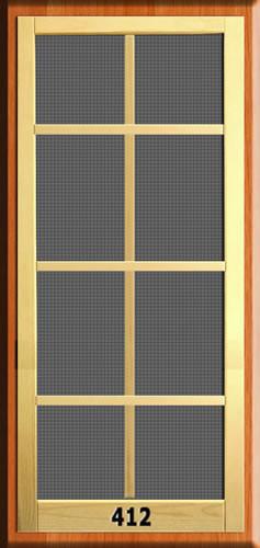 New england screen door 412 the original woodshop network for New screen door