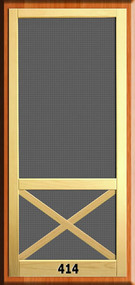 New England Screen Door #414