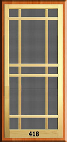 New England Screen Door #418