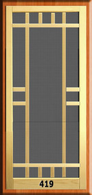 New England Screen Door #419