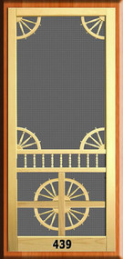Victorian Screen Door #439
