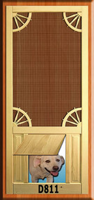 PET WOOD SCREEN DOOR #D811
