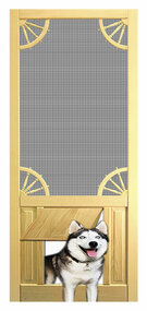 PET SAFE - SOLID WOOD SCREEN DOOR #D811