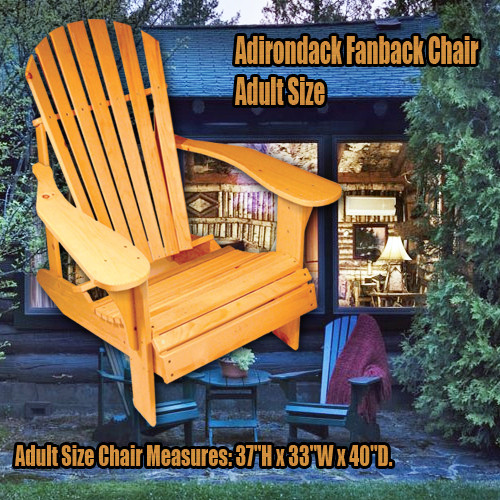 fanback chair free shipping the original woodshop network