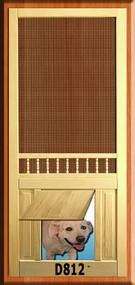 PET WOOD SCREEN DOOR #D812