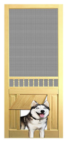 PET SAFE - SOLID WOOD SCREEN DOOR #D812