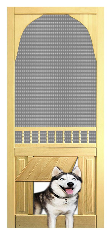 Pet Safe Solid Wood Screen Door D813 The Original