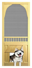 PET WOOD SCREEN DOOR #D813