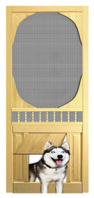 PET SAFE - SOLID WOOD SCREEN DOOR #D814