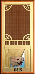 PET WOOD SCREEN DOOR #D815