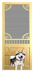 PET SAFE - SOLID WOOD SCREEN DOOR #D815