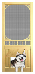 PET WOOD SCREEN DOOR #D816