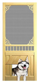 PET SAFE - SOLID WOOD SCREEN DOOR #D817