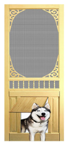 PET WOOD SCREEN DOOR #D818