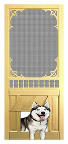 PET WOOD SCREEN DOOR #D819