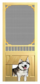 PET WOOD SCREEN DOOR #D820
