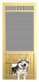 PET SAFE - SOLID WOOD SCREEN DOOR #D821