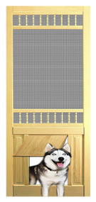 PET SAFE - SOLID WOOD SCREEN DOOR #D822