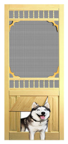 PET SAFE - SOLID WOOD SCREEN DOOR #D823