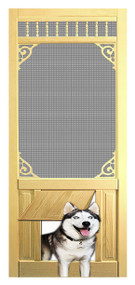 PET SAFE - SOLID WOOD SCREEN DOOR #D824