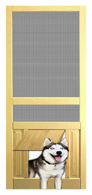 PET SAFE - SOLID WOOD SCREEN DOOR #D825