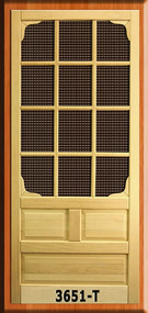 SCREEN DOOR #3651-T