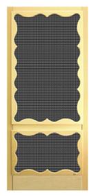 Craftsman Screen Doors #360 P SS
