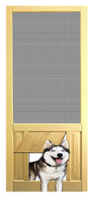 PET SAFE - SOLID WOOD SCREEN DOOR #D801