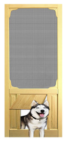 PET SAFE - SOLID WOOD SCREEN DOOR #D802
