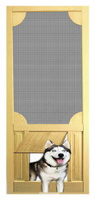 PET SAFE - SOLID WOOD SCREEN DOOR #D803