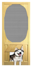 PET SAFE - SOLID WOOD SCREEN DOOR #D804
