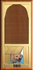 PET WOOD SCREEN DOOR #D805