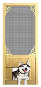 PET SAFE - SOLID WOOD SCREEN DOOR #D806