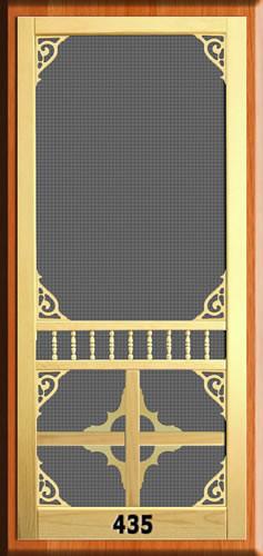 Victorian Screen Door 435 The Original Woodshop Network