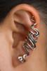 Sidewinder Ear Cuff - Silver