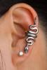 Sterling Silver Snake Ear Cuff
