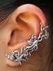 Poseidon's Gift - Octopus and Sea Star Ear Cuff - Silver