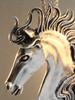 Spirit Horse Pendant - Silver