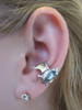 Bat Ear Cuff On Ear