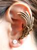 Angel Wing Ear Cuff -Bronze