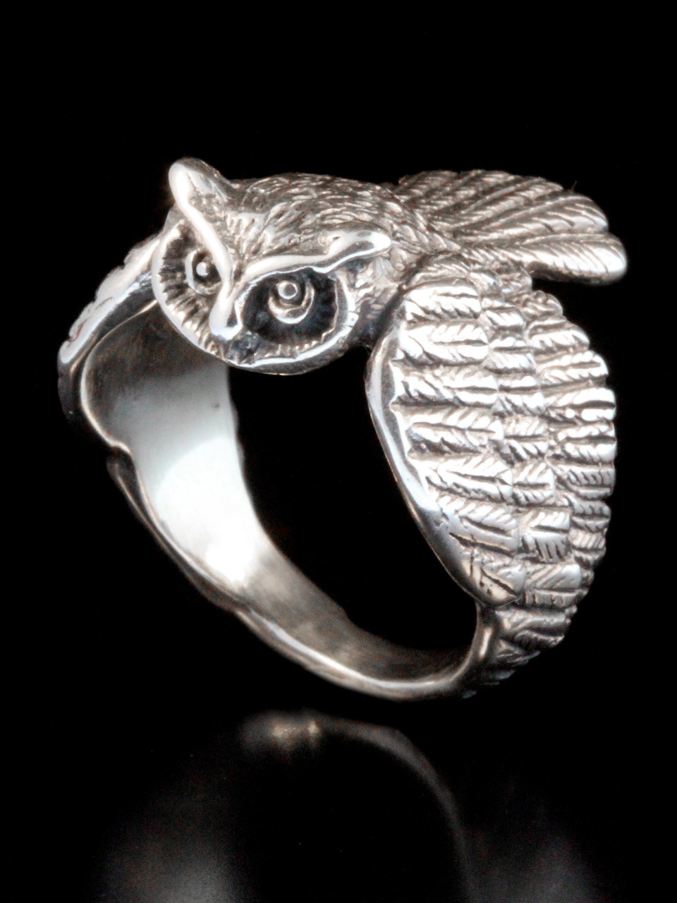 Owl Ring Jewelry