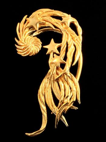Comet Ear Wraps -Gold Vermeil