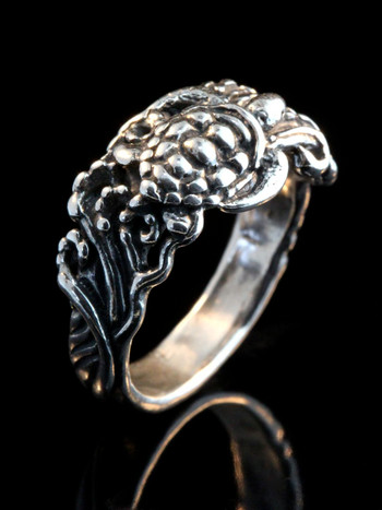 Wave Rider Turtle Ring