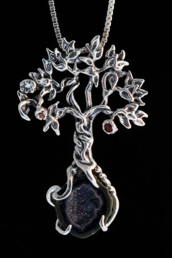 Primeval Forest Tree Pendant # 7