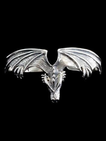 Gothic Dragon Cuff Bracelet